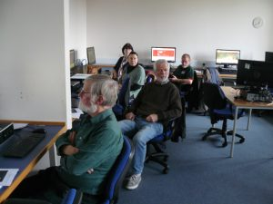 Successful SSRS and RSFSS website training session in Dumfries