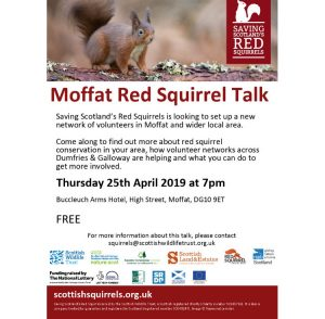 Moffat Red Squirrel Talk – April 2019
